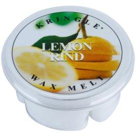 Kringle Candle Lemon Rind cera para lámparas aromáticas 35 g