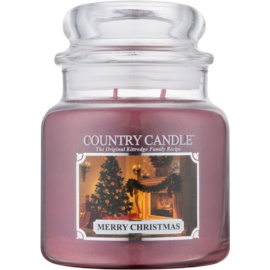 Kringle Candle Country Candle Merry Christmas Duftkerze  453 g
