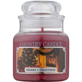Kringle Candle Country Candle Merry Christmas Duftkerze  104 g