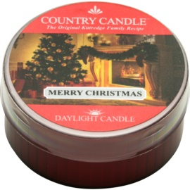 Kringle Candle Country Candle Merry Christmas świeczka typu tealight 42 g