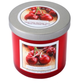 Kringle Candle Royal Cherries vonná svíčka 141 g malá