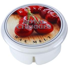 Kringle Candle Royal Cherries illatos viasz aromalámpába 35 g