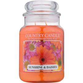 Kringle Candle Country Candle Sunshine & Daisies Geurkaars 652 gr