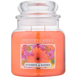 Kringle Candle Country Candle Sunshine & Daisies Geurkaars 453 gr