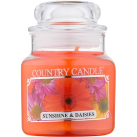 Kringle Candle Country Candle Sunshine & Daisies illatos gyertya  104 ml