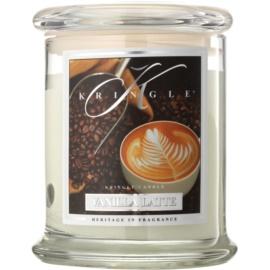 Kringle Candle Vanilla Latte vela perfumado 411 g