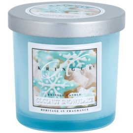 Kringle Candle Coconut Snowflake illatos gyertya  140 g