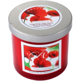 Kringle Candle Wild Poppies vonná svíčka 141 g malá