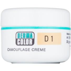Kryolan Dermacolor Camouflage System kremasti korektor i make-up 2 u 1 nijansa D 1  30 g