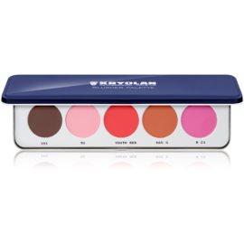 Kryolan Basic Face & Body paleta cu 5 farduri de obraz  12,5 g