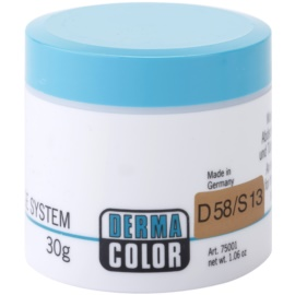 Kryolan Dermacolor Camouflage System krémový korektor a make-up v jednom odstín D 58/S 13 Rich Beige  30 g