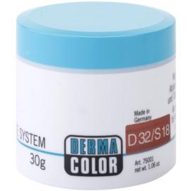 Kryolan Dermacolor Camouflage System krémový korektor a make-up v jednom odstín D 32/S 18 Rouge  30 g