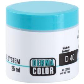 Kryolan Dermacolor Camouflage System krémový korektor a make-up v jednom odstín D 40  30 g