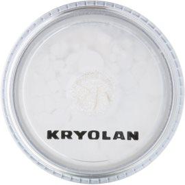 Kryolan Basic Face & Body pudra cu particule stralucitoare pentru fata si corp culoare Silver 3 g