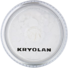 Kryolan Basic Face & Body блестящ прашец за лице и тяло цвят Silver 3 гр.
