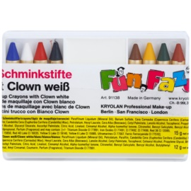 Kryolan Fun Faze Kids' Face Painting Crayons  15 + 12 g