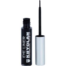 Kryolan Basic Eyes Liquid Eye Eyeliner mit einem  Applikator Farbton Black  6 ml