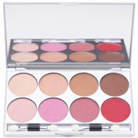 Kryolan Basic Eyes paleta de 8 culori  cu oglinda si aplicator culoare Posh 24 g