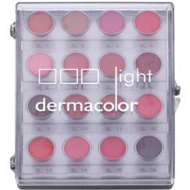 Kryolan Dermacolor Light paletka 16 odstínů rtěnek  11 g