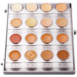 Kryolan Dermacolor Light paleta 16 odstínů korektorů (Minipalette Foundation Cream) 20 ml