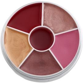 Kryolan Basic Lips paleta de brillos labiales  30 g