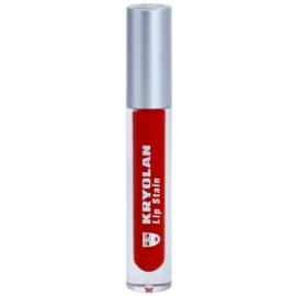 Kryolan Basic Lips ruj de buze lichid pentru un efect de lunga durata culoare Rock 4 ml