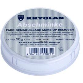 Kryolan Basic Removal vaseline pour enlever les résidus de maquillage petit format  45 g