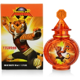 Kung Fu Panda 2 Tigress Eau de Toilette für Kinder 50 ml