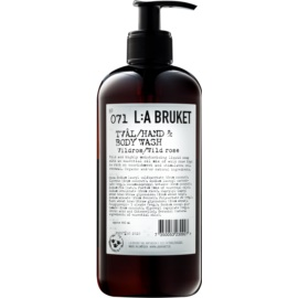 L:A Bruket Body Wild Rose Liquid Soap for Hands and Body  450 ml