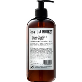L:A Bruket Body Liquid Soap With Extracts Of Cucumber  450 ml