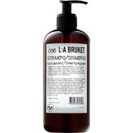 L:A Bruket Hair Szampon do włosów normalnych i suchych kolendra i czarny pieprz  450 ml