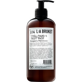 L:A Bruket Body Bergamot and Patchouli Liquid Soap for Hands and Body  450 ml