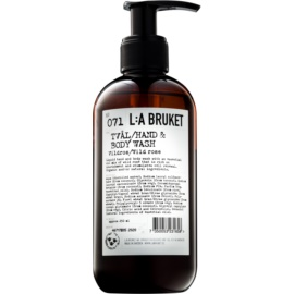 L:A Bruket Body Wild Rose Liquid Soap for Hands and Body  250 ml
