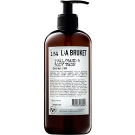 L:A Bruket Body Geranium Liquid Soap for Hands and Body  450 ml