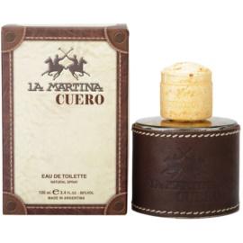 La Martina Cuero Hombre eau de toilette férfiaknak 100 ml