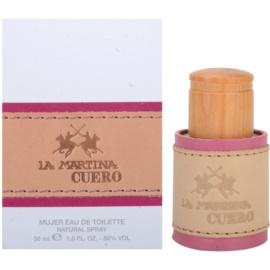 La Martina Cuero Mujer eau de toilette nőknek 30 ml