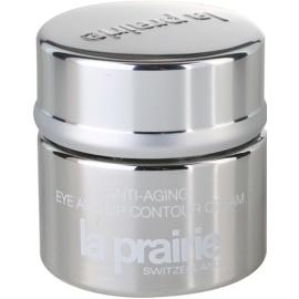 La Prairie Anti-Aging crema rejuvenecedora para contorno de ojos y labios (Eye And Lip Contour Cream) 20 ml