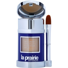 La Prairie Skin Caviar Collection Flüssiges Make Up Farbton Amber Beige (SPF 15) 30 ml