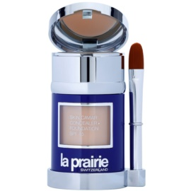 La Prairie Skin Caviar Collection Flüssiges Make Up Farbton Solei Peche (SPF 15) 30 ml