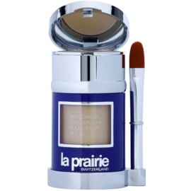 La Prairie Skin Caviar Collection Flüssiges Make Up Farbton Honey Beige (SPF 15) 30 ml