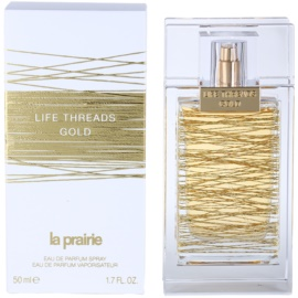 La Prairie Life Threads Gold Eau de Parfum für Damen 50 ml