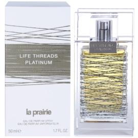 La Prairie Life Threads Platinum Eau De Parfum pentru femei 50 ml