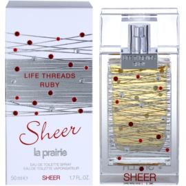 La Prairie Life Threads Sheer Ruby Eau de Toilette für Damen 50 ml