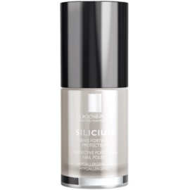 La Roche-Posay Silicium Color Care lak na nehty odstín 06 Blanc 6 ml