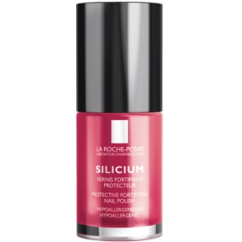 La Roche-Posay Silicium Color Care lak na nehty odstín 18 Rose Vif  6 ml