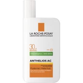 La Roche-Posay Anthelios AC Beschermende Matte Fluid voor het Gezicht  SPF 30  50 ml