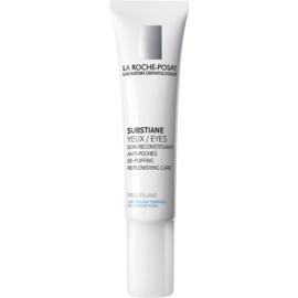 La Roche-Posay Substiane crema antiarrugas contorno de ojos para reducir la hinchazón  15 ml
