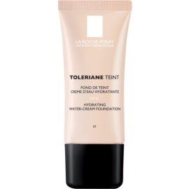La Roche-Posay Toleriane Teint maquillaje en crema hidratante para pieles normales y secas tono 01 Ivory SPF 20  30 ml