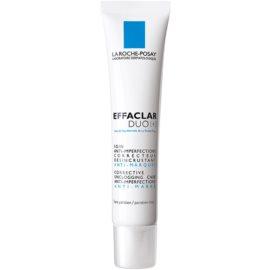 La Roche-Posay Effaclar kijavítása és megújítása az aknés bőr apró hibáit Duo [+] 40 ml