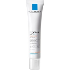 La Roche-Posay Effaclar tónusegyesítő korrekciós ápolás a bőr tökéletlenségei és a pattanások utáni hegek ellen árnyalat Light Duo [+] 40 ml